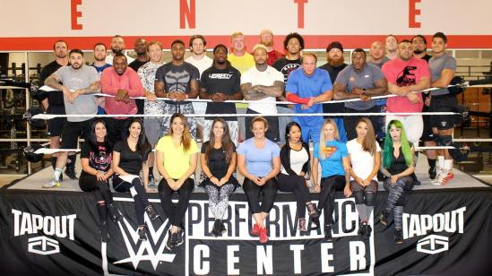 WWE Performance Center Tryout Group Pic