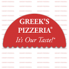 Greek's pizzeria logo